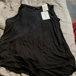Nwt women's black athleta cloudlight tank